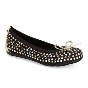 Stuart Weitzman Fannie Tara Ballet Flat Shoes 13